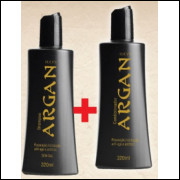 kit argan shampoo e condicionador 315 ml