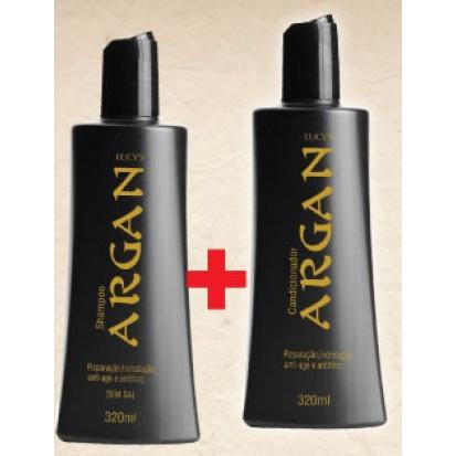 kit argan shampoo e condicionador 315 ml